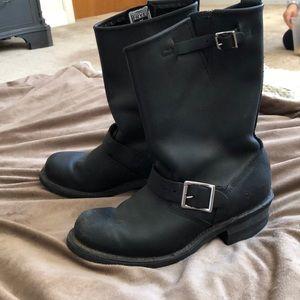 Frye biker boots